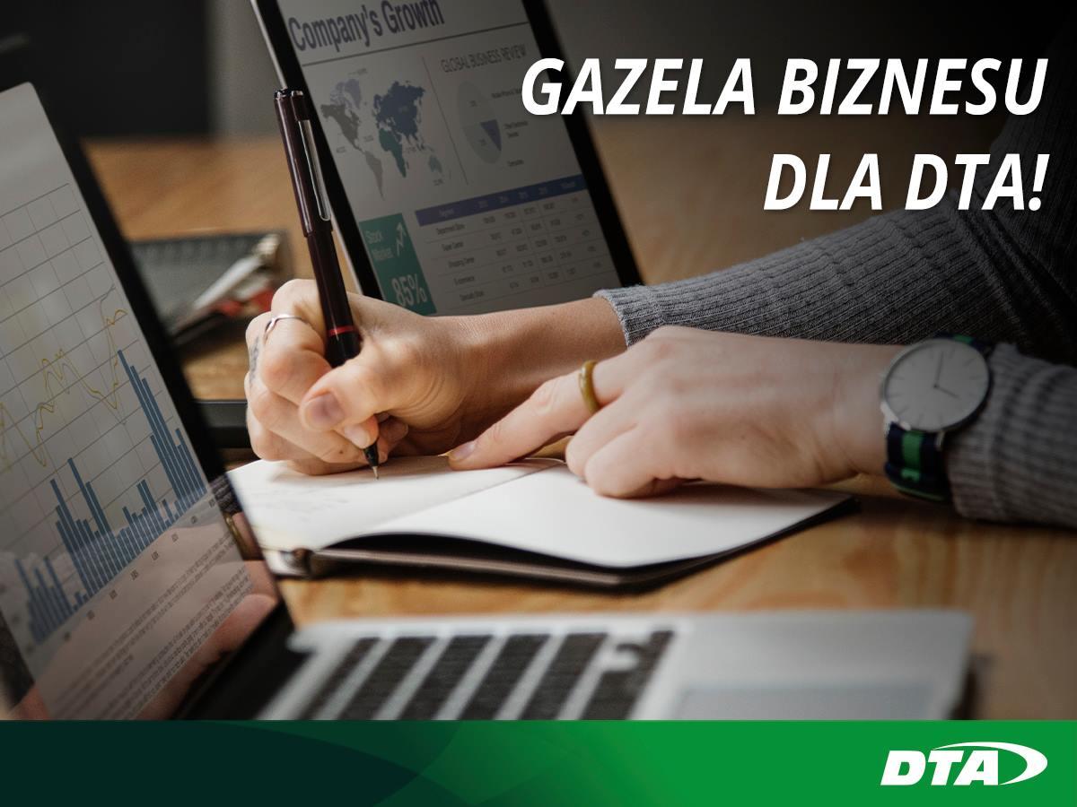 DTA wśród Gazel Biznesu 2018!