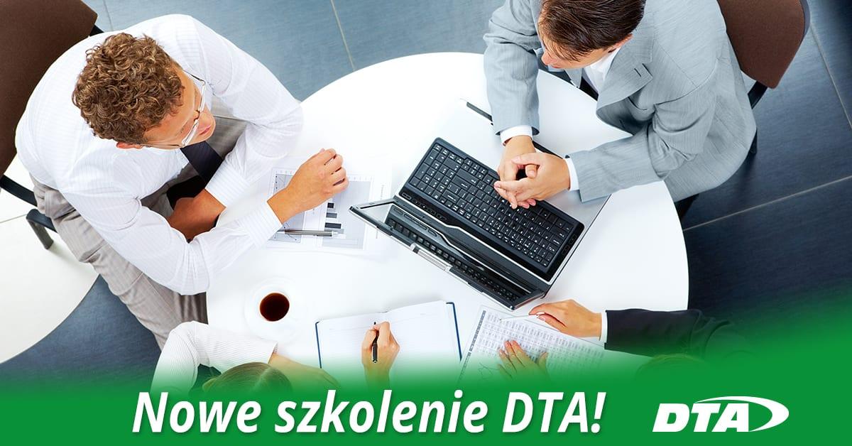 Nowe szkolenie w ofercie – sprawdź szkolenia DTA!