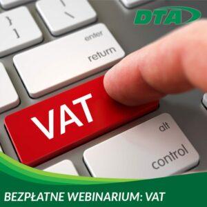 Webinarium VAT